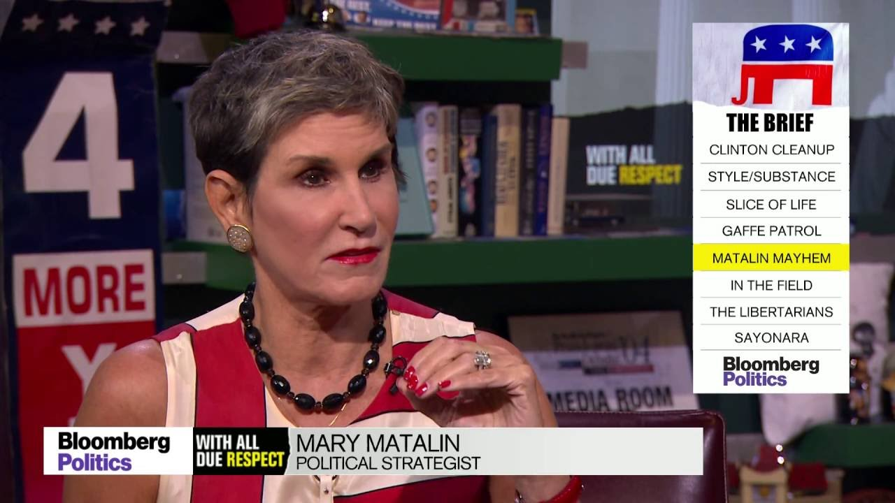 Mary Matalin Says Trump Has a 100% Chance of Winning