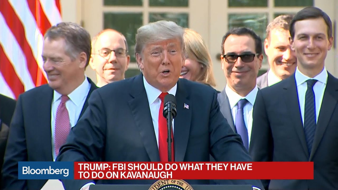 Trump Says He's Never Had a Beer, Kavanaugh Didn't Lie About Drinking