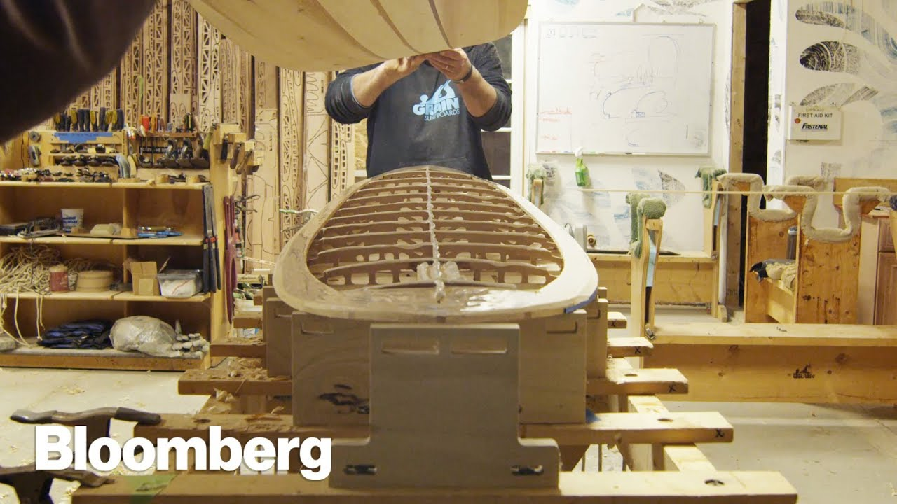 How Grain Makes Wooden Surfboards