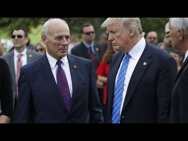 Gen. Kelly Says Trump Personally Asked Him to Be Chief of Staff
