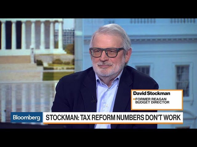 Ex-Budget Director Stockman Says Trump Tax Cuts Will Cause 'All Hell to Break Loose'