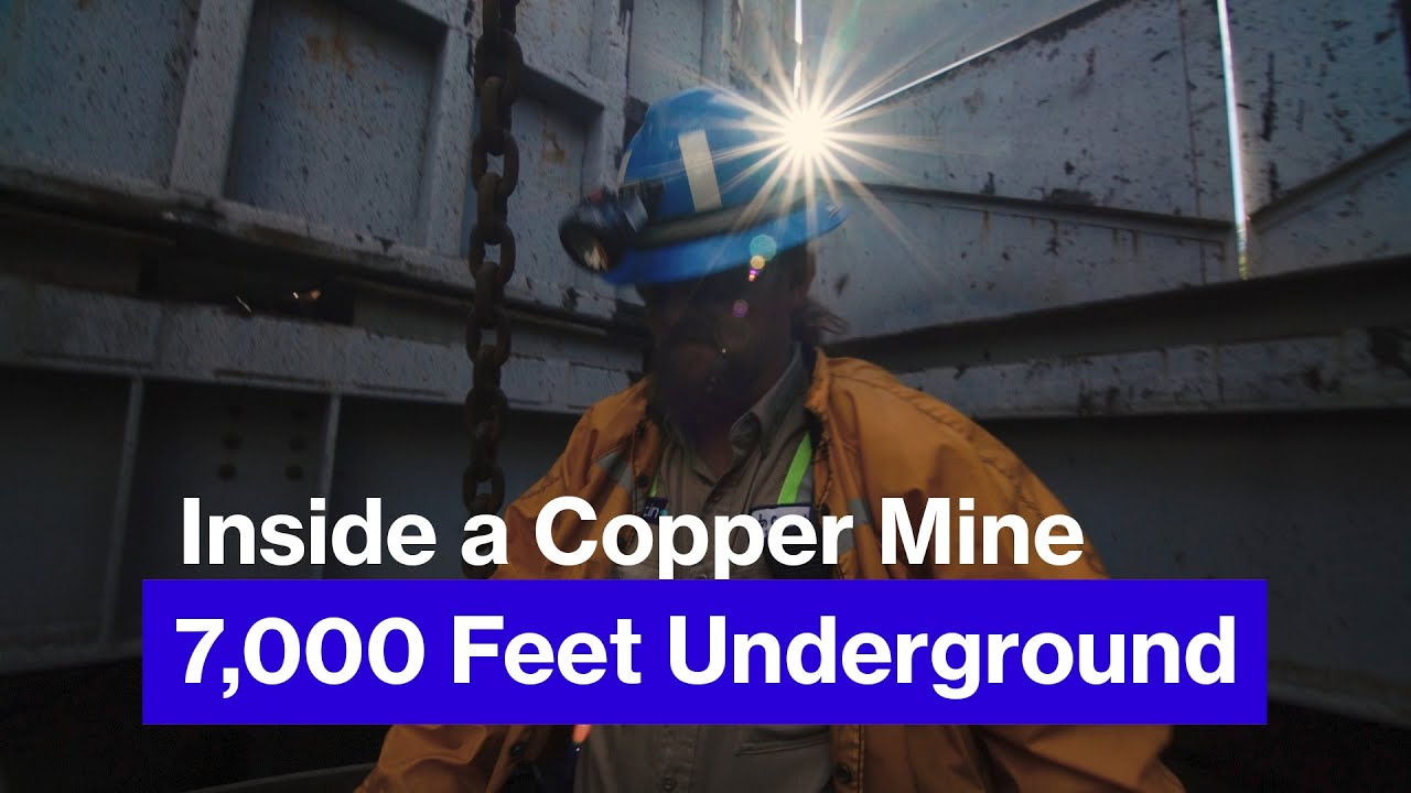 Inside the Resolution Copper Mine, 1.3 Miles Underground