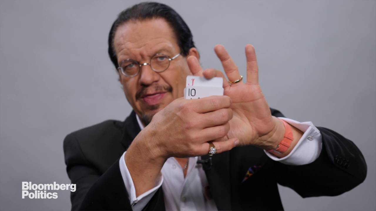 Penn Jillette's 'Trump' Card Trick