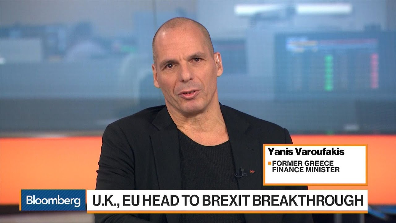 Yanis Varoufakis on Brexit Negotiations, Ireland, Greece