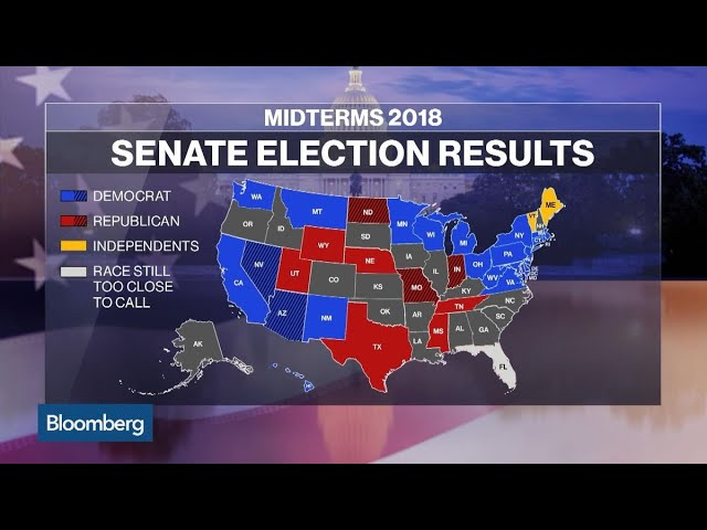 Midterms Point to Reshaped Map for 2020