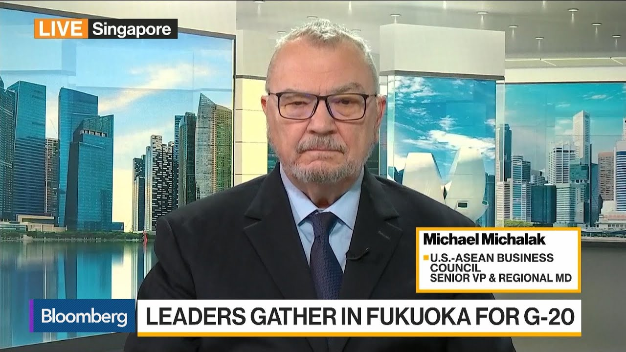 China's Gloves Are Beginning to Come Off, Says U.S.-Asean Business Council's Michalak
