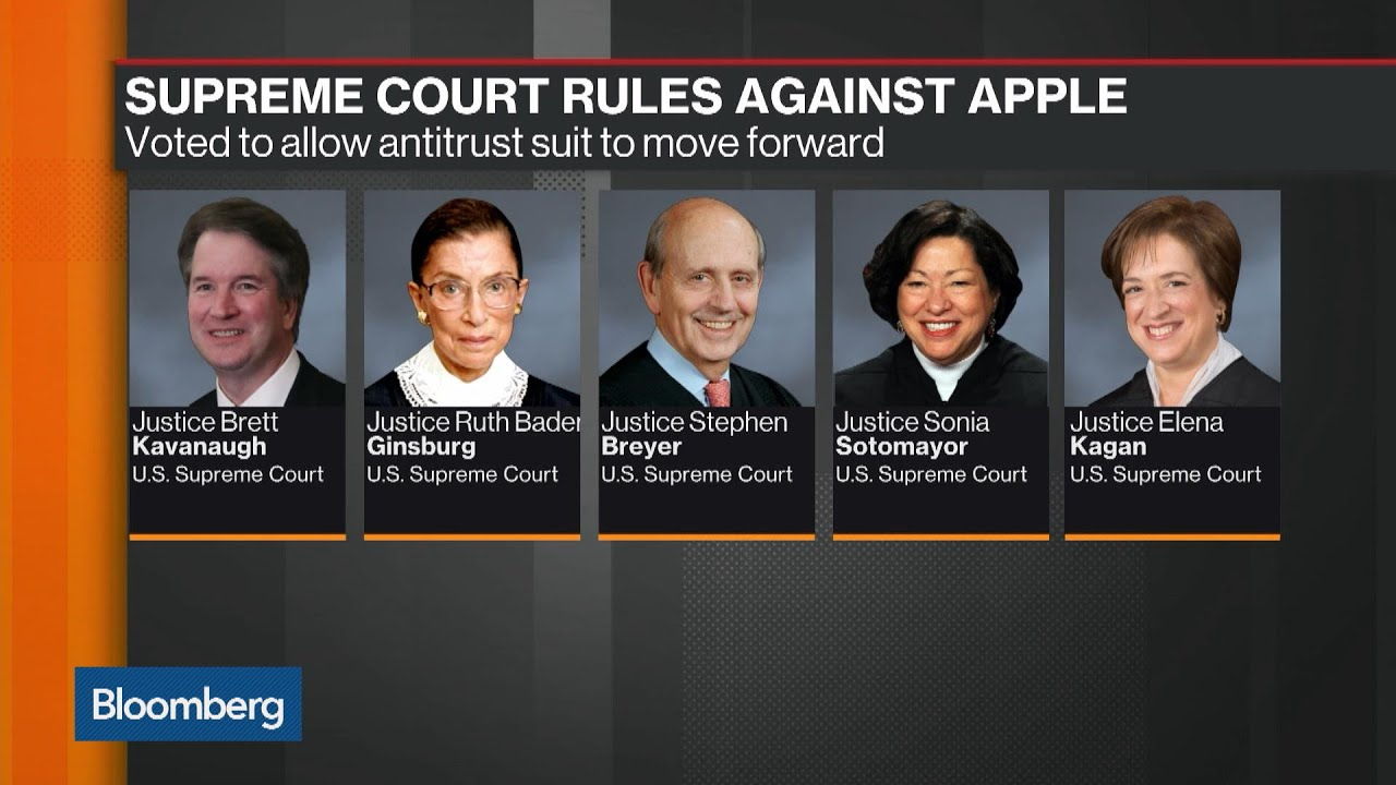 Supreme Court Rules Against Apple to Allow Antitrust Suit
