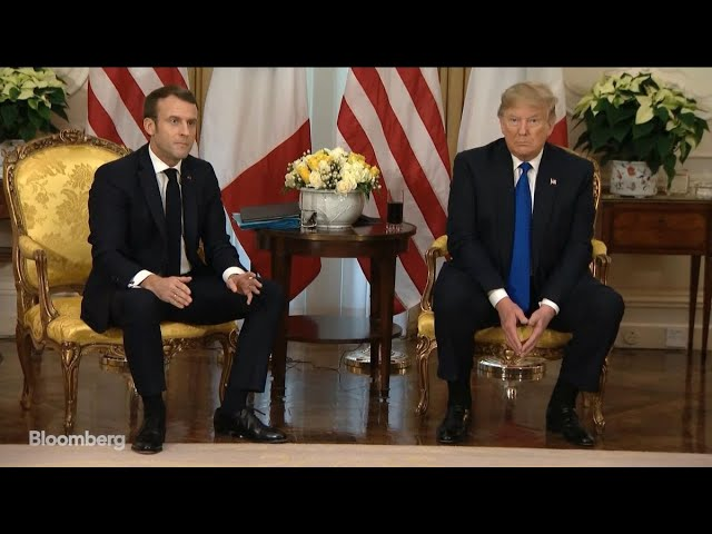 Macron Tells Trump 'Let's Get Serious' About ISIS
