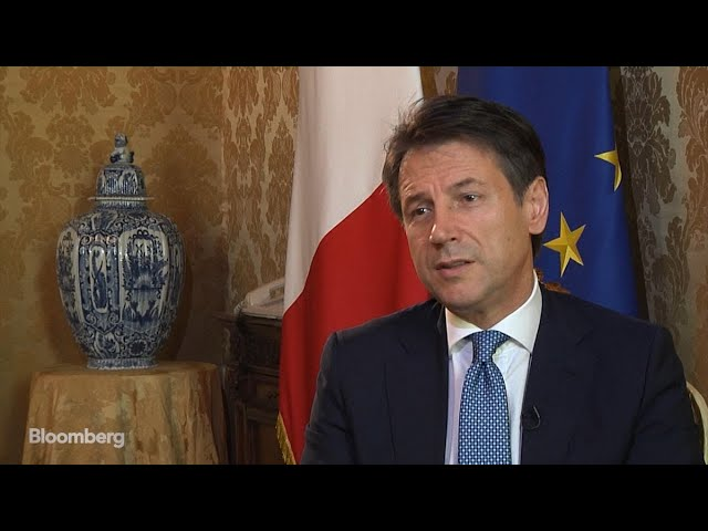 Italy's Conte on Budget and Exiting EU