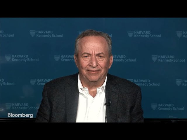 Larry Summers Sees 80% Chance of U.S. Recession