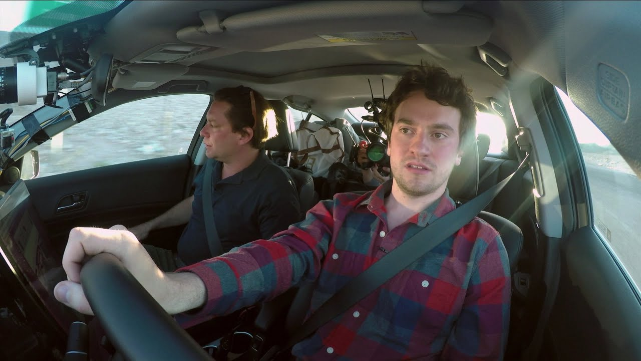 Here's What Happens When You Road Trip to Vegas in a Homemade Self-Driving Car