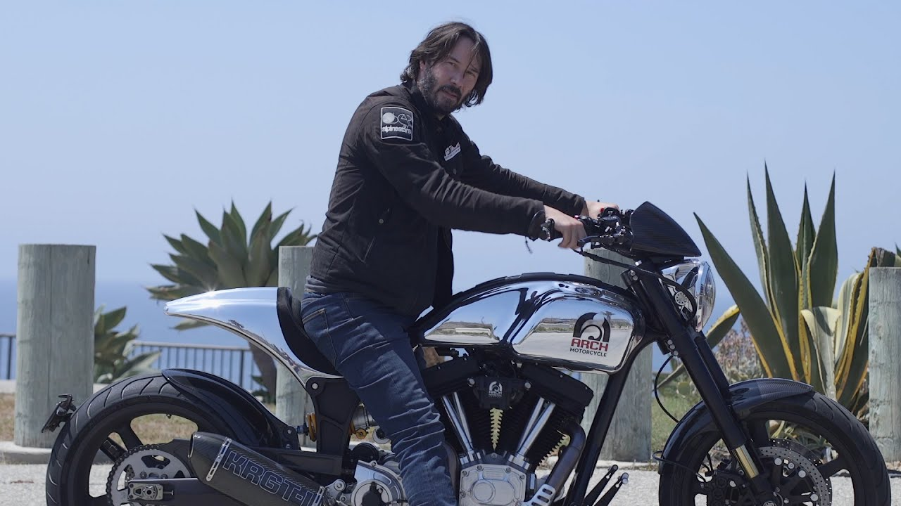 Keanu Reeves Wants to Build a $78,000 Motorcycle Just for You