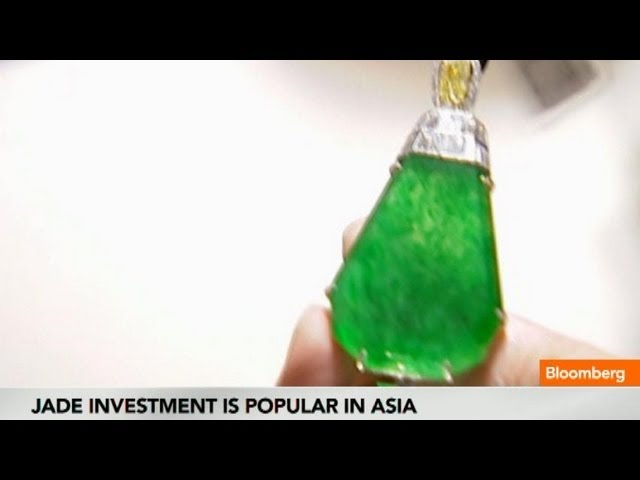 Forget Diamonds, Asia's Wealthy Invest in Jade