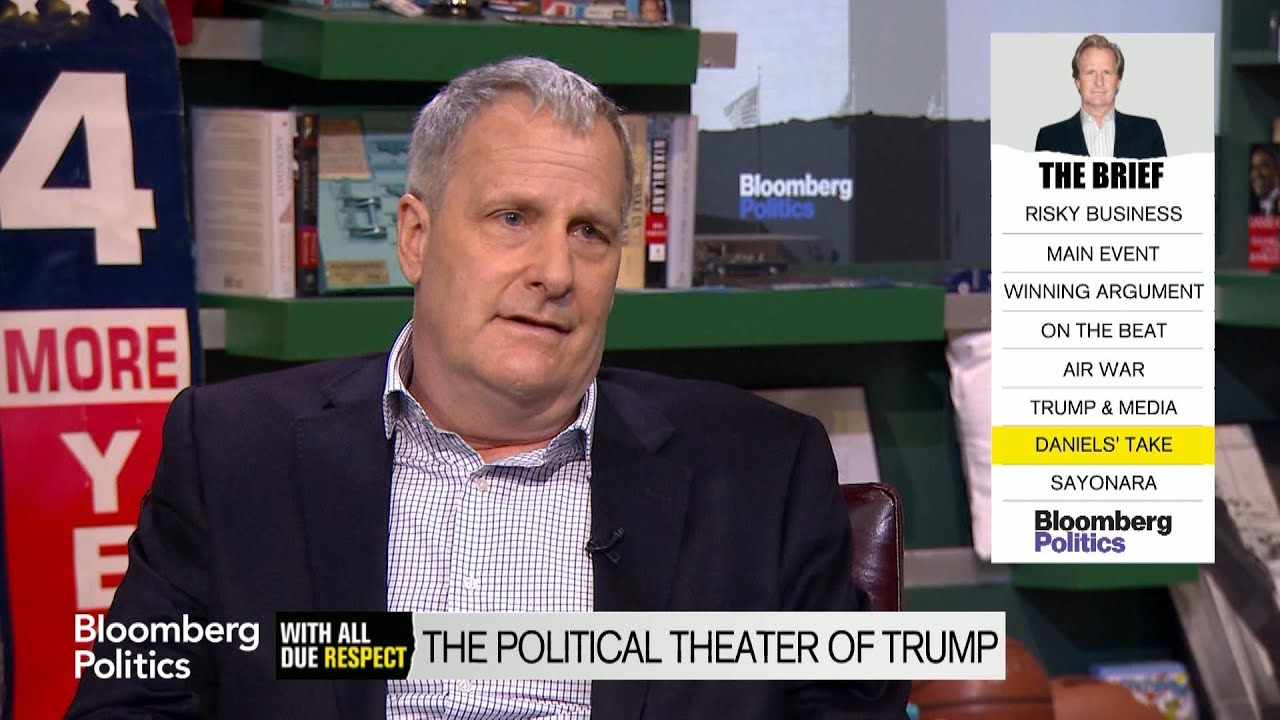 Jeff Daniels: Donald Trump Is a 'Manipulator'