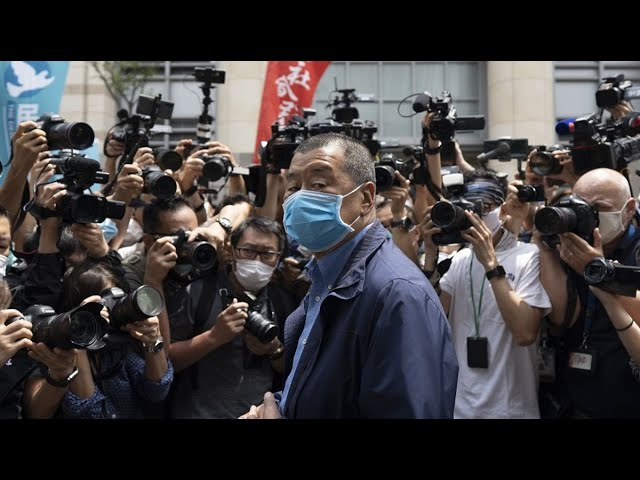 Hong Kong Police Arrest Media Tycoon Jimmy Lai