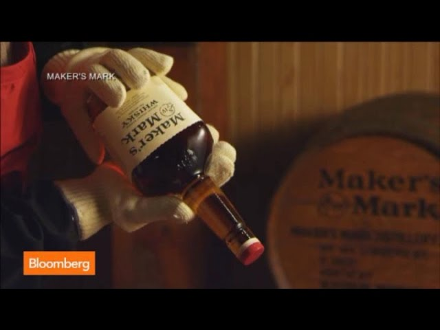 The Story Behind the Mark on Maker's Mark Bourbon